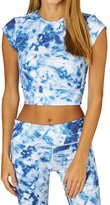 Seafolly Caribbean Ink Crop Top
