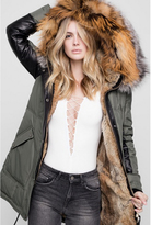 Nicole Benisti I Am Chelsea Intarsia Original Fur Lined Parka