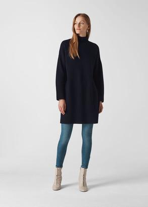 Rib Sleeve Knit Dress