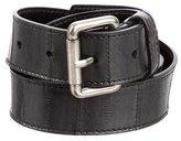Jil Sander Embossed Leather Belt