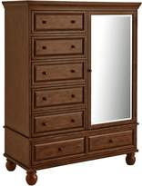 Pier 1 Imports Ashworth Chestnut Brown Chifforobe