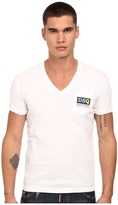 DSQUARED2 Logo Pocket V-Neck T-Shirt