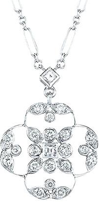 Kwiat Crochet 18K Diamond Necklace
