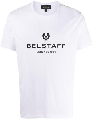 Belstaff logo print crew neck T-shirt