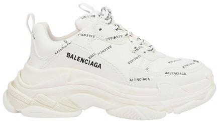 Balenciaga Triple S Sneaker Allover Logo