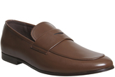 Ask the Missus Gold Penny Loafers