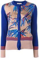 Emilio Pucci leafs pattern cardigan