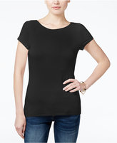 INC International Concepts Petite Boat-Neck T-Shirt, Only at Macy's