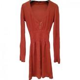 Patrizia Pepe Orange Linen Dress for Women