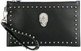 Philipp Plein embellished clutch bag