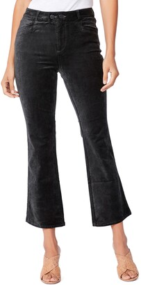 Paige Claudine Double Button High Waist Flare Jeans