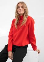 And other stories Cropped Relaxed Fit Turtleneck
