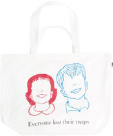 Undercover Everyone Lost Their Minds tote