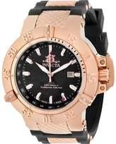 Invicta Men's Subaqua 80428 - Black/Rose Gold Polyurethane/Black Wrist Watches