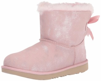 UGG T Mini Bailey Bow Ii Shimmer Boot