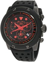 Glam Rock Men's Racetrack Collection Chronograph Silicone Watch GLAMROCK-GR90110