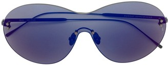 SUNDAY SOMEWHERE purple Iris shield sunglasses