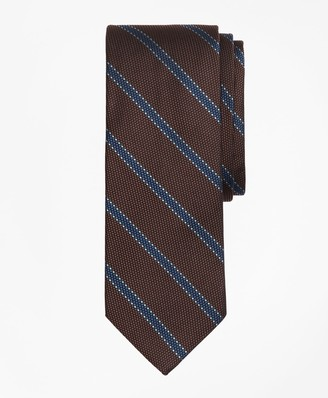 Brooks Brothers Dotted Framed Stripe Tie