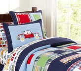 Pottery Barn Kids Patrick Quilted Bedding