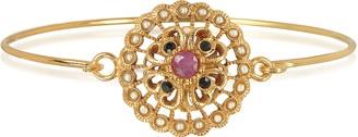 Alcozer & J Mandala Bracelet w/Semi Precious Stones
