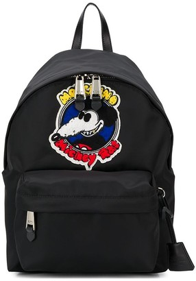 Moschino Mickey Rat patch backpack