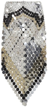 Paco Rabanne Paillette-embellished skirt