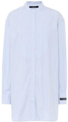 Rokh Pinstriped cotton shirt