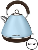 Morphy Richards Accents Pyramid Kettle - Special Edition Azure