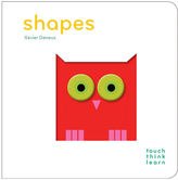 Chronicle Books Touch think learn: shapes