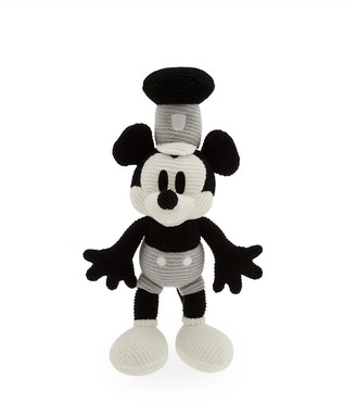 Disney Mickey Mouse Knit Plush Steamboat Willie 15''