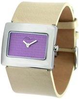 Moog Paris Supra Women's Watch with Dial, White Strap in Genuine Leather - M41642-013