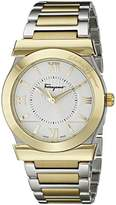 Salvatore Ferragamo Men's FI0970014 Vega Stainless Steel and Gold Ion-Plated Watch