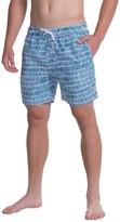 Slate & Stone Printed Cabo Swim Shorts (For Men)