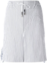 Toga striped tie-waist shorts - women - Cotton - 40
