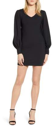 Susana Monaco Long Blouson Sleeve Dress