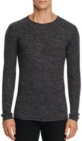 John Varvatos Collection Wool Linen Heathered Sweater