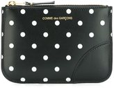 Comme des Garcons polka dot coin purse - unisex - Leather - One Size