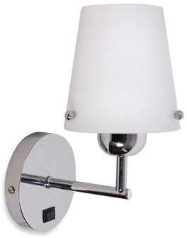 Bed Bath & Beyond Catalina Chrome Arm Plug-In Wall Sconce