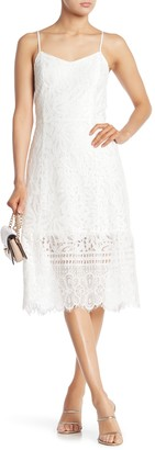Sugar Lips Sleeveless Lace Dress