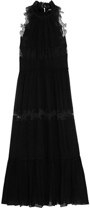 3.1 Phillip Lim Ruffle-trimmed Tiered Lace And Silk-blend Gauze Gown
