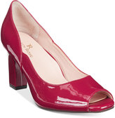 Taryn Rose TR Francis Block-Heel Pumps