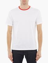 Ami White Cotton T-Shirt
