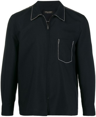 Comme Des Garçons Pre Owned 1999 Souvenir Kitsch shirt jacket