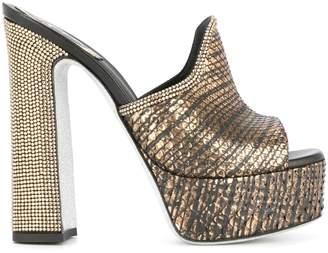 Rene Caovilla platform heel sandals