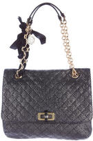 Lanvin Quilted Woven Happy Bag