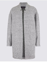 M&S Collection PETITE Textured Coat
