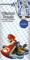 Nintendo Super Mario Kart 8 Window Panels Drapes Curtains, New 2015