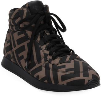 Fendi FFreedom High-Top Sneakers
