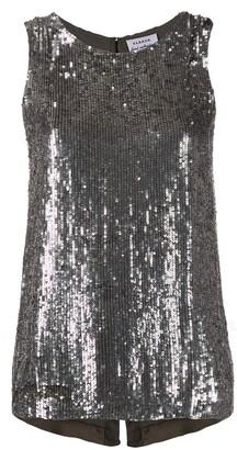 P.A.R.O.S.H. Sequin Disco Vest Top
