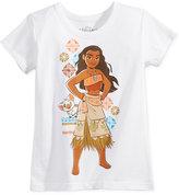 Disney Moana T-Shirt, Toddler Girls (2T-4T) & Little Girls (2-6X)